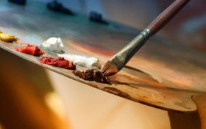 Paint Brush Wallpaper