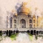 Taj Mahal HD Wallpaper