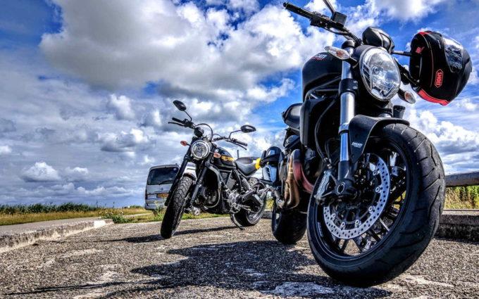 Black Ducati Wallpaper