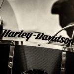 Harley Davidson Black And White