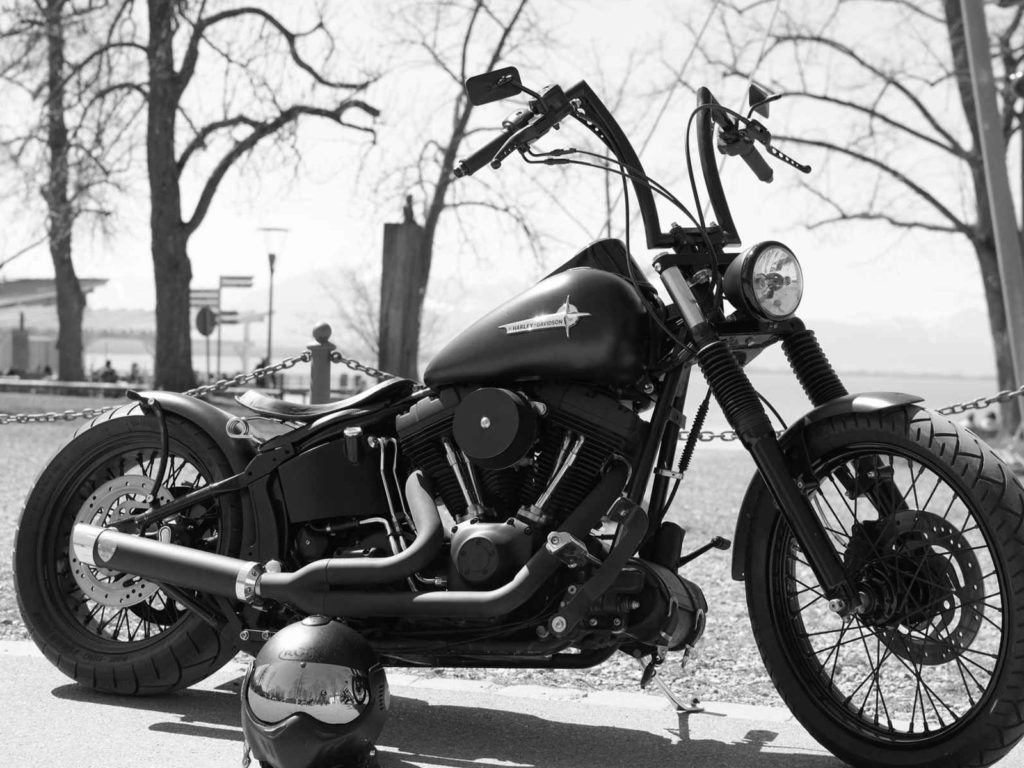 Harley Davidson Black Bike Forever Wallpapers