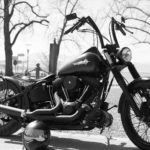 Harley Davidson Black Bike