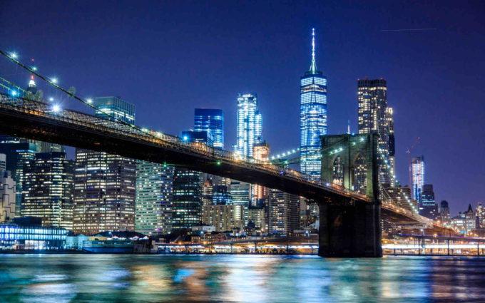 New York Nightlife Wallpaper