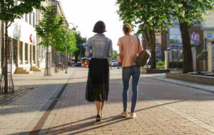 Images Of Women Walking Away