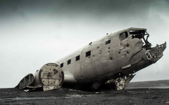 Plane Crash Wallpaper